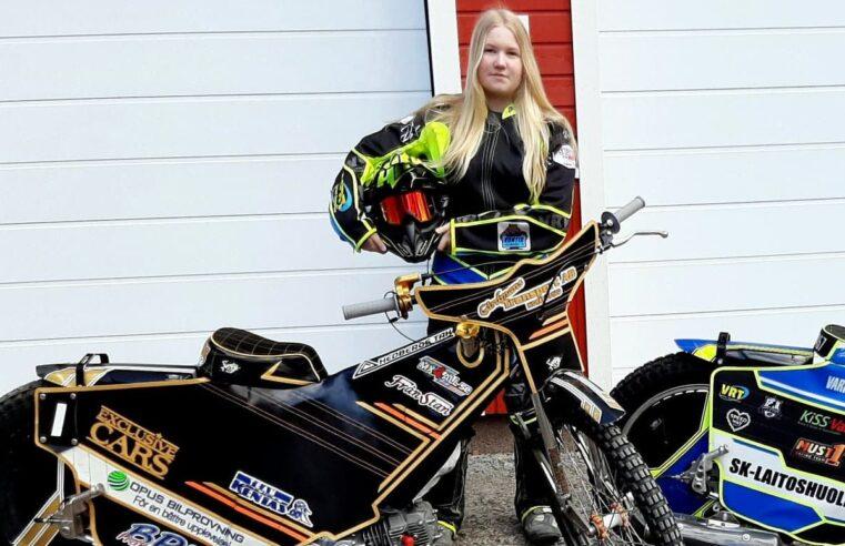 Kobiety speedwaya (1) – Nella Änkiläinen: Ten sport potrzebuje też dziewczyn