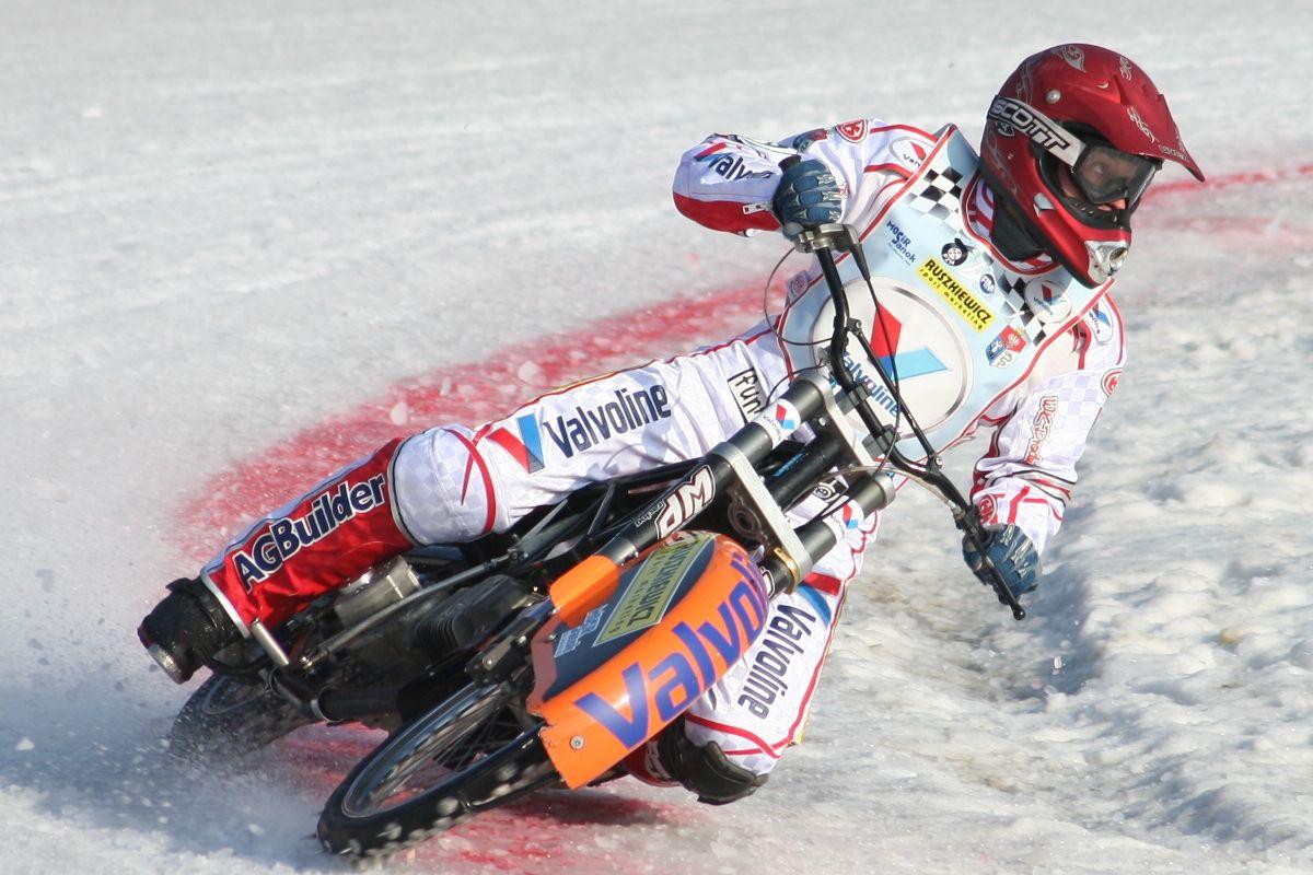 Michał Widera: Jak na ice racingowca jestem jeszcze niezbyt zaawansowany wiekowo