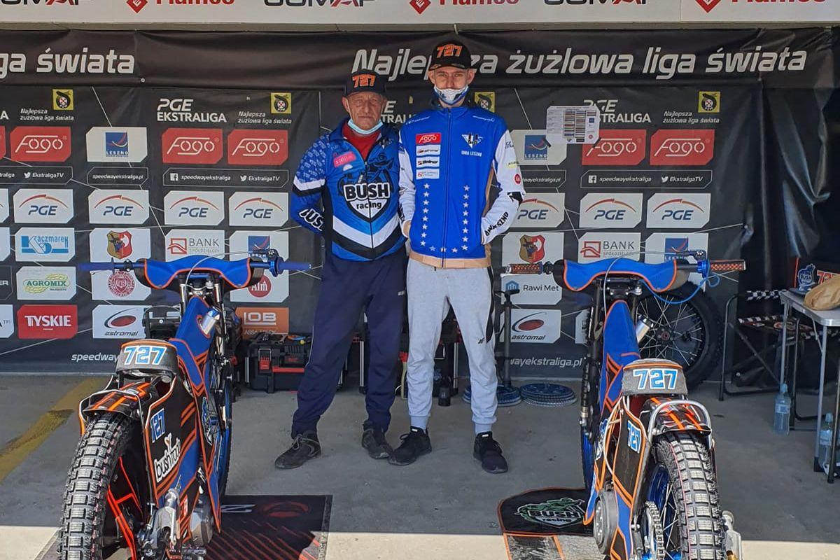 Z Pit Bike'ów na żużel (1): Olivier Buszkiewicz (wywiad)